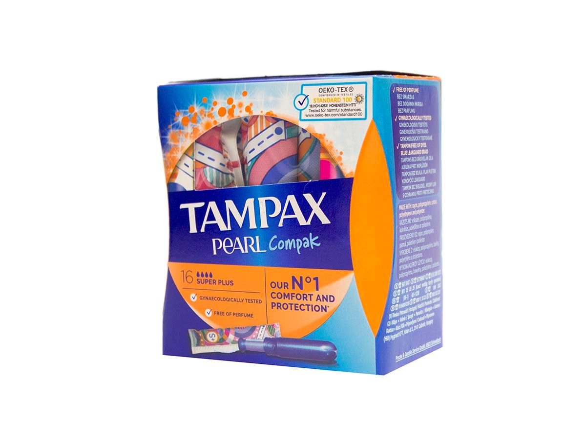 Tampax tampóny Compak Super Plus 1x16 ks