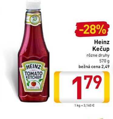 Heinz Kečup 570 g