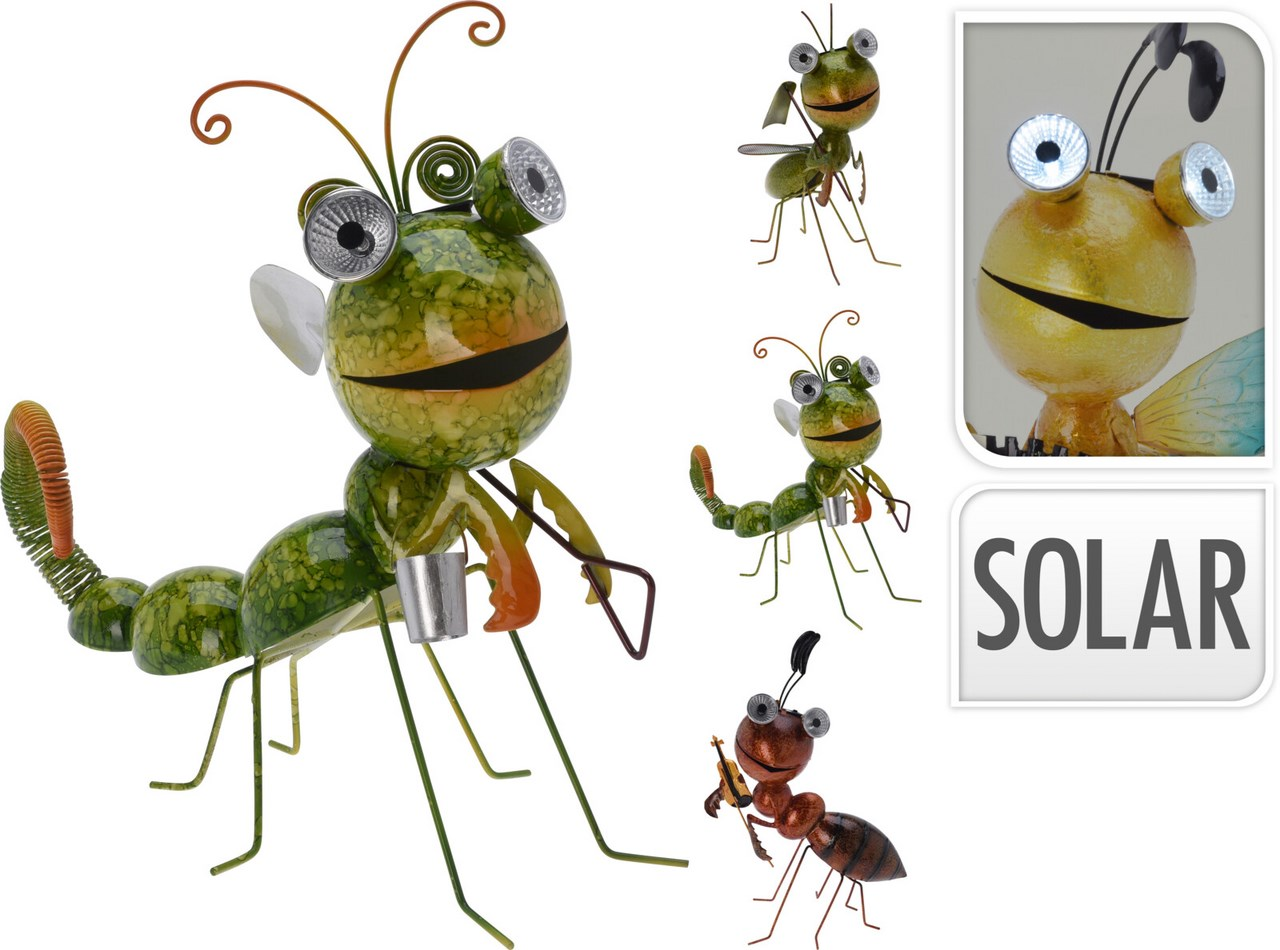 Hmyz solárny kovový 4ASS 1ks