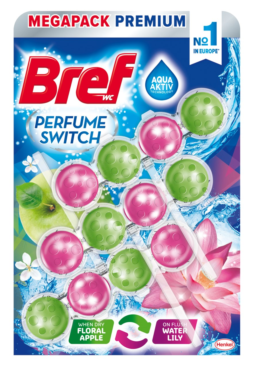Bref Perfume switch Apple - Water lily 3x50 g