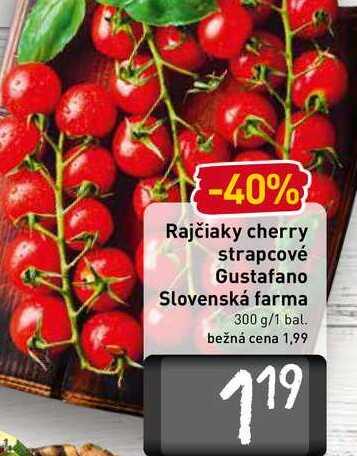 Rajčiaky cherry strapcové  300 g