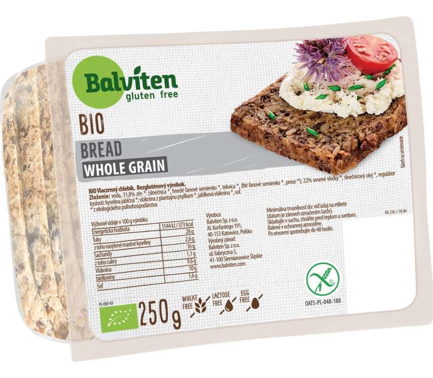 Bezgluténový chlieb Bio