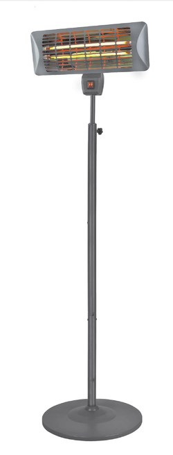 Žiarič terasový Q-Time 2000S Eurom 1 ks