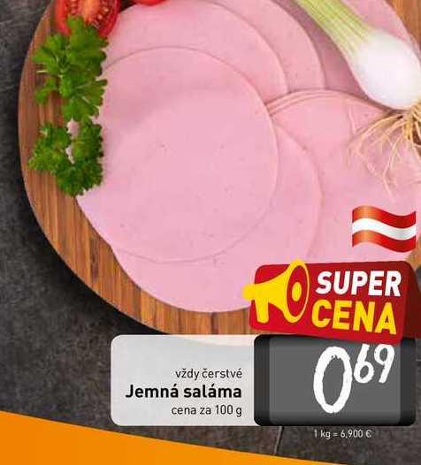 Jemná saláma 100 g