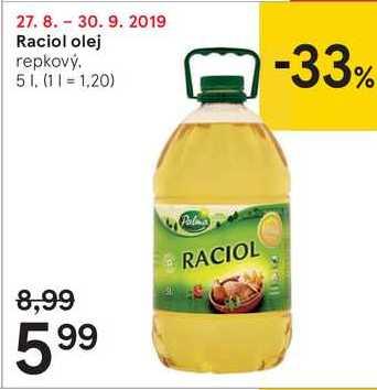 Raciol olej, 5 l