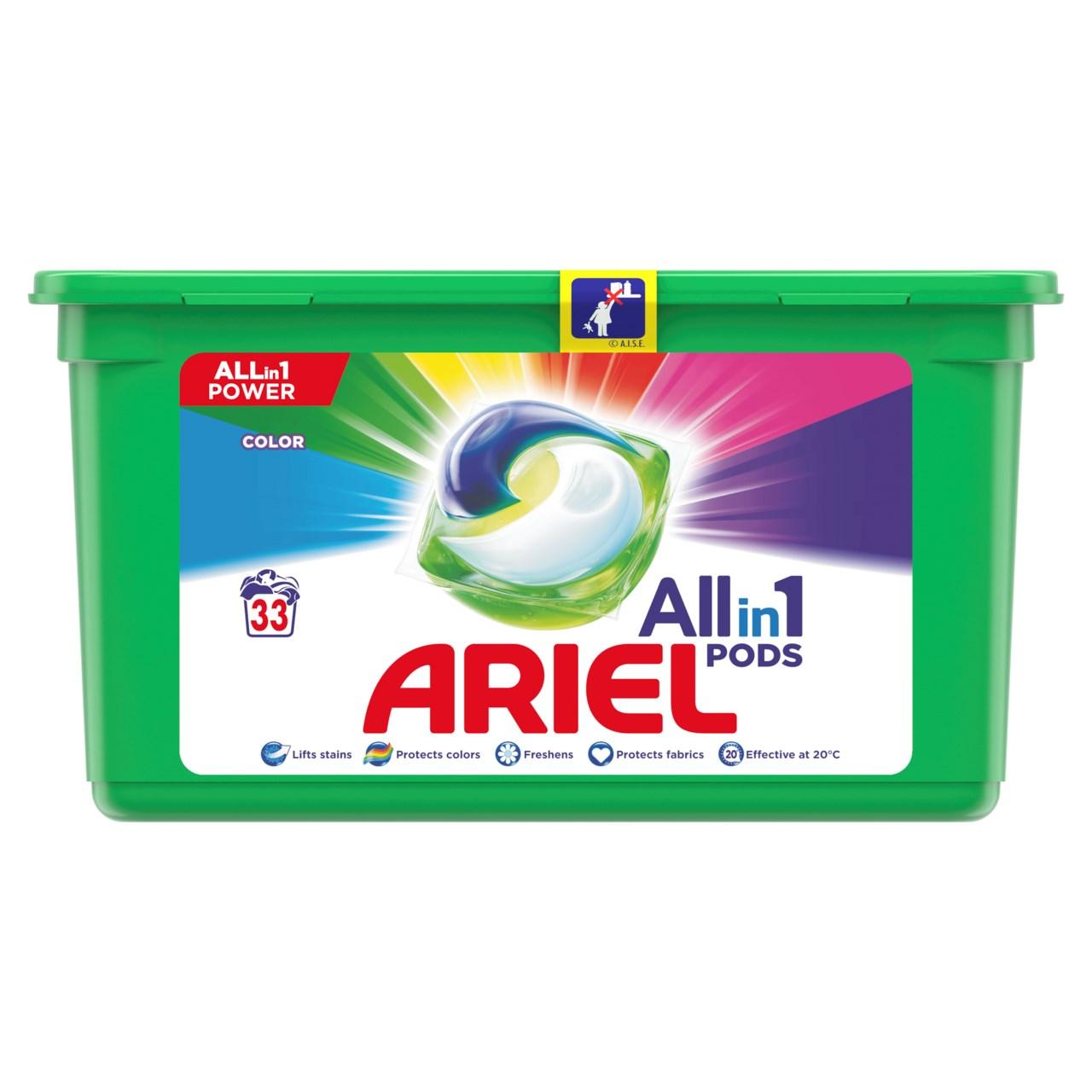 Ariel Color gélové kapsuly 1x33 ks