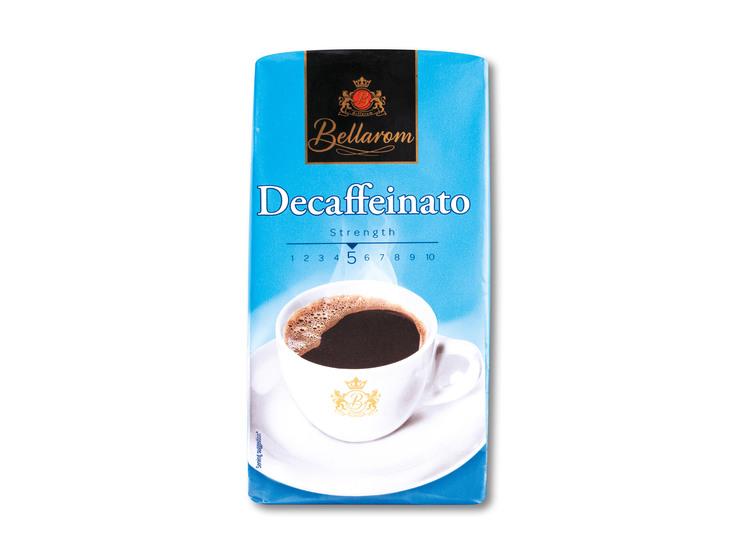 Dekofeínovaná káva