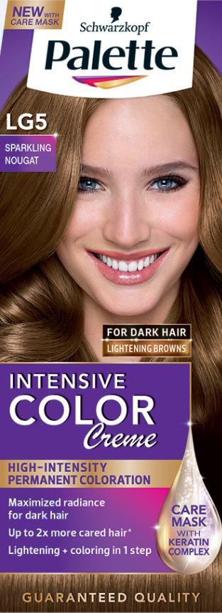 Palette Intensive Color Creme lightening browns LG5 farba na vlasy 1x1 ks