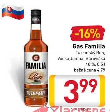 Gas Familia 0,5 l