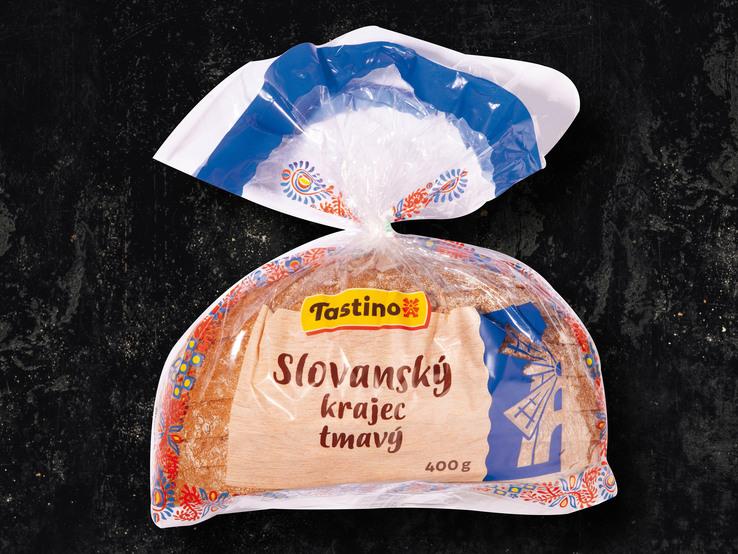 Slovanský zemiakový/tmavý chlieb