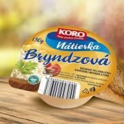 NÁTIERKA BRYNDZOVÁ 130g KORO