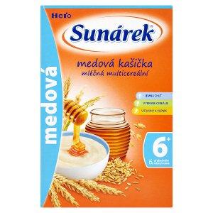 Sunárek Medová kašička 225 g