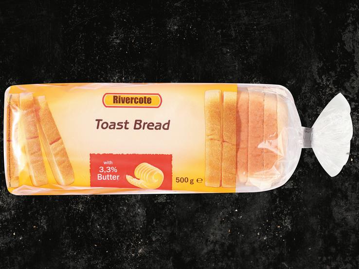 Toastový chlieb maslový
