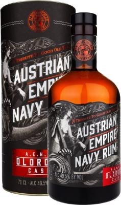 Austrian Empire Navy Rum Oloroso Cask 49,5% 0,70 L