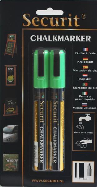 Popisovač 2-6mm zelený 2ks