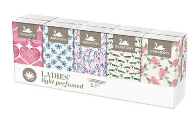 Harmony papierové vreckovky ladies 10x10 ks