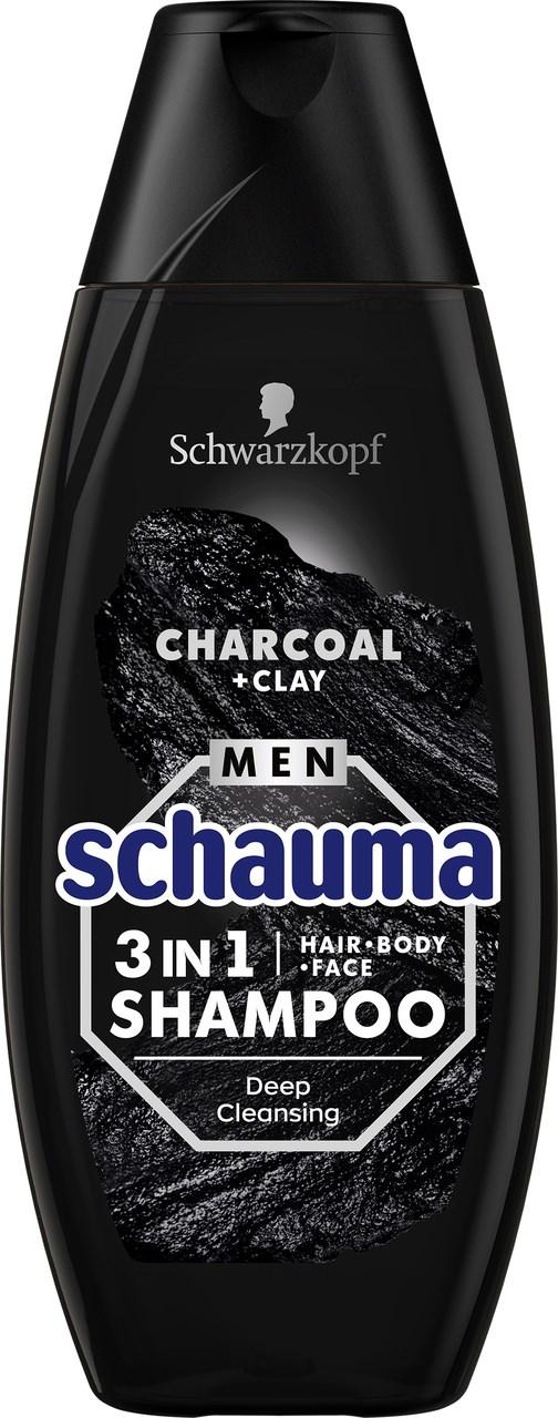 Chauma Men Uhlie a íl šampón 1x400 ml