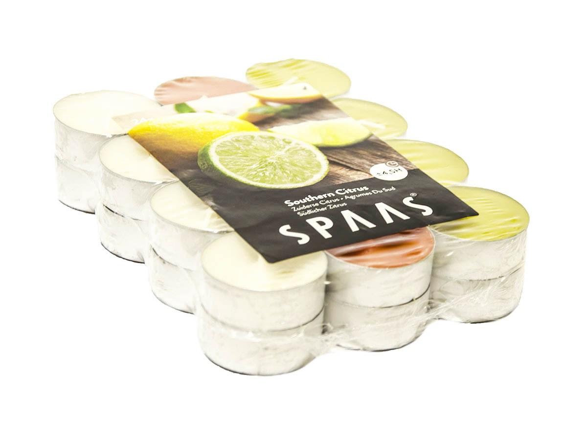 Sviečky Spa čajové citrus Spaas 24ks