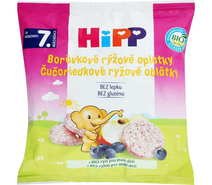 Ryžové oblátky pre deti Bio