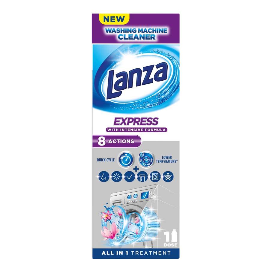 Lanza Expres čistič práčky 1x250 ml