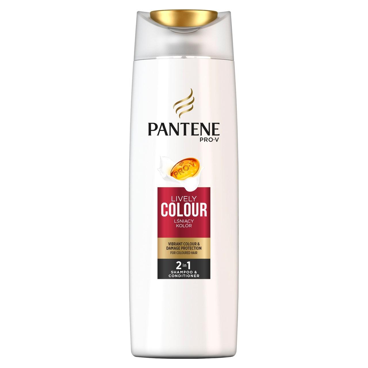 Pantene Color Protect 2v1 šampón na vlasy 1x400 ml
