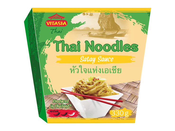 Thajské rezance s omáčkou