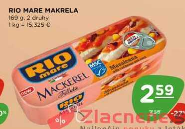 RIO MARE MAKRELA 169 g