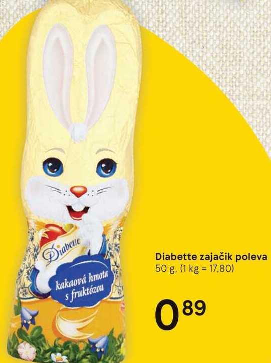 Diabette zajačik poleva, 50 g