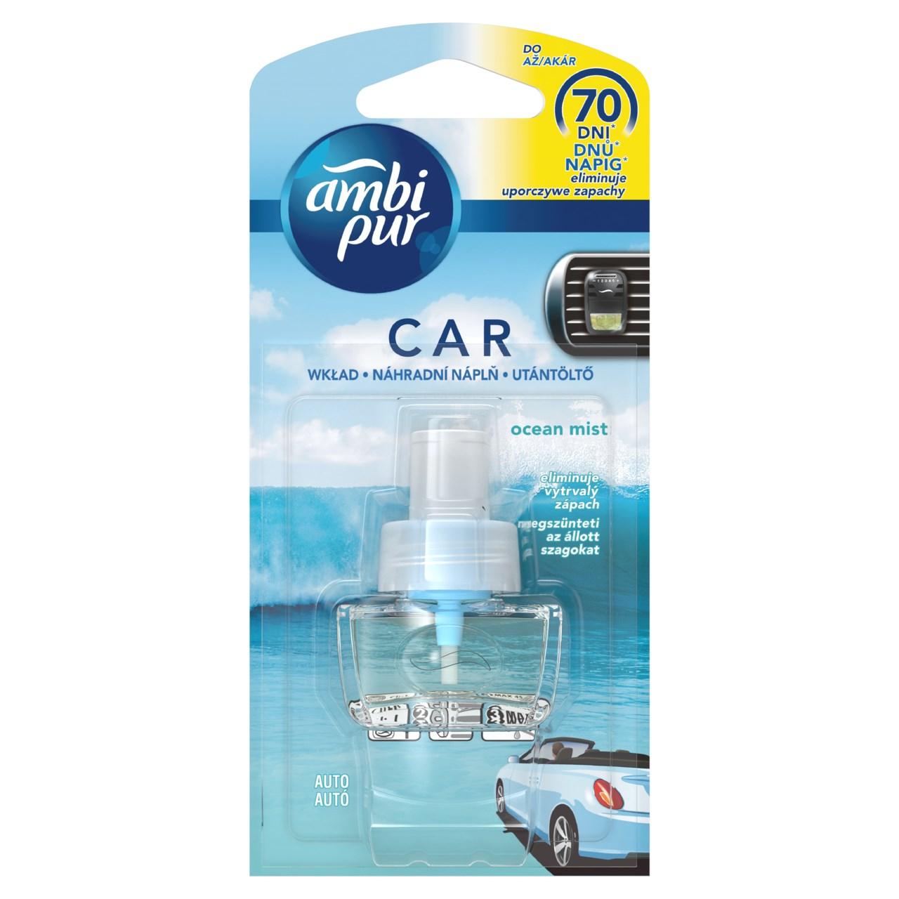 Ambi Pur Car aqua náhradná náplň 1x7 ml