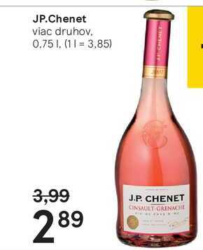 JP.Chenet, 0,75 l