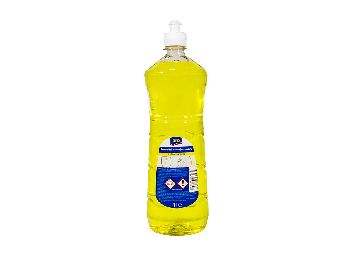 ARO Prostriedok na umývanie riadu lemon 1x1 l