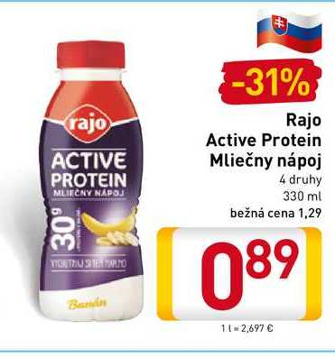 Rajo Active Protein 330 ml