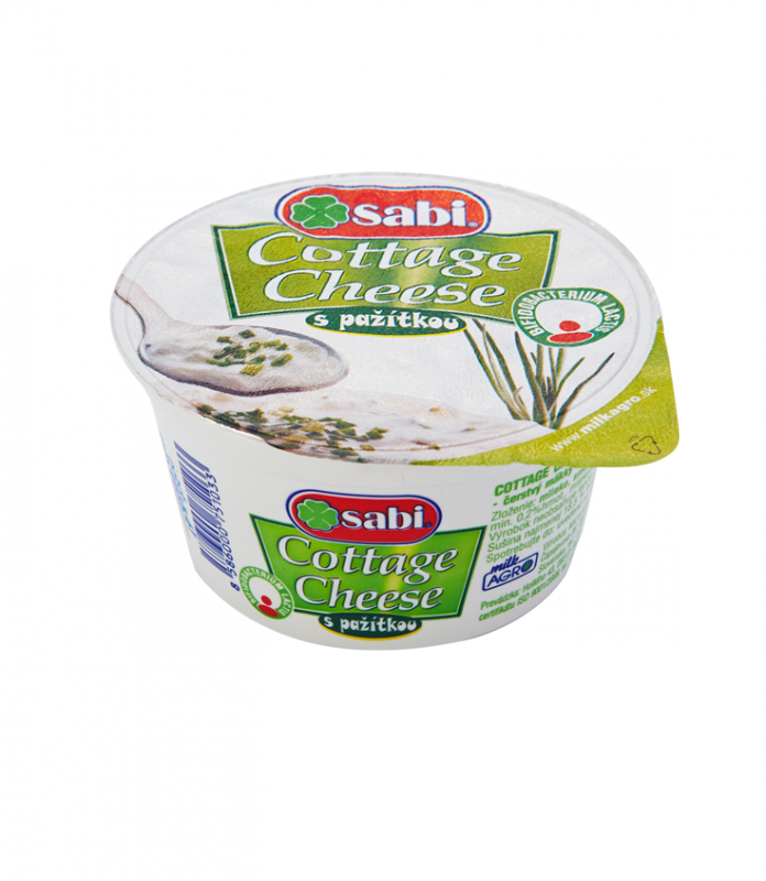 Cottage cheese s pažítkou
