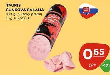TAURIS ŠUNKOVÁ SALÁMA