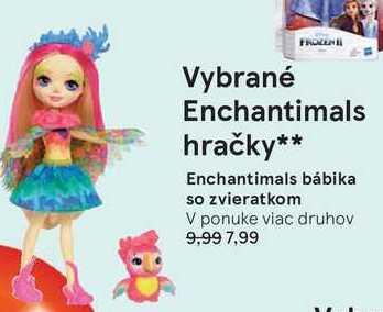 Enchantimals bábika so zvieratkom