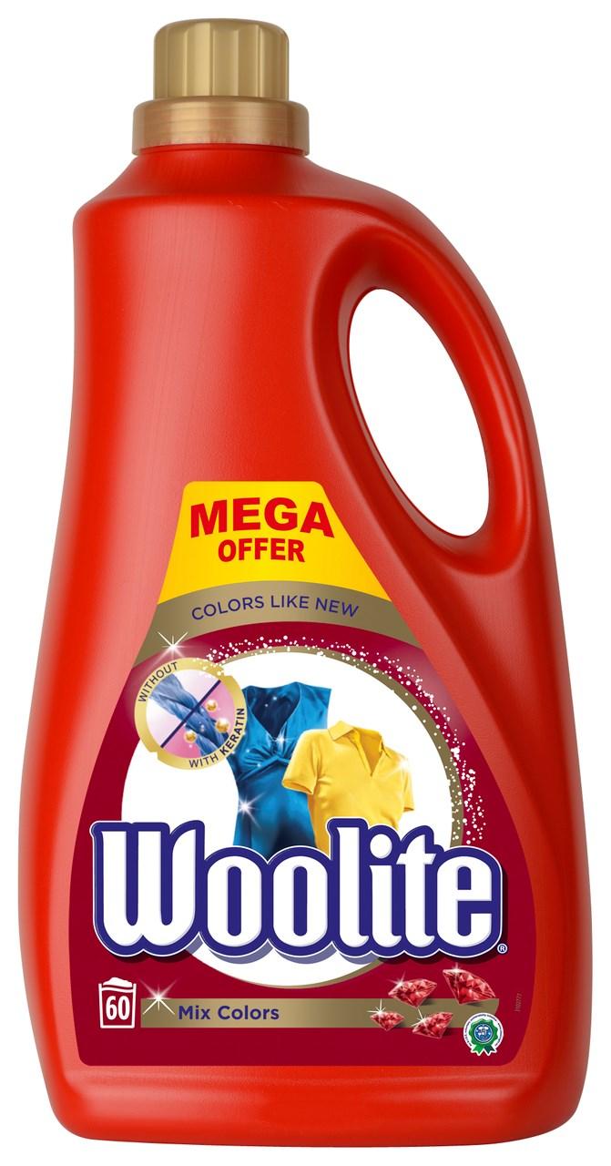 Woolite Mix Colors prací gél 60 praní 1x3,6 l