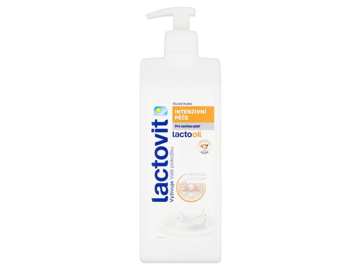 Lactovit Lactooil telové mlieko 1x400 ml