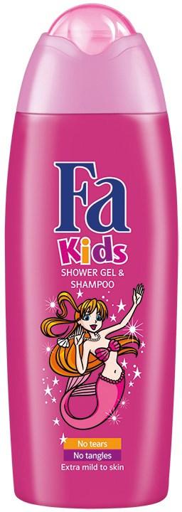 Fa Kids Morská víla sprchový gél 1x250 ml