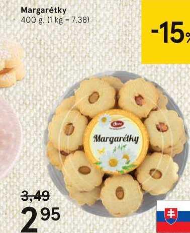 Margarétky, 400 g