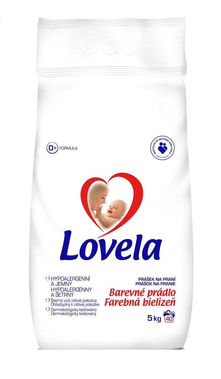 Lovela Color prací prášok 40 praní 1x5 kg