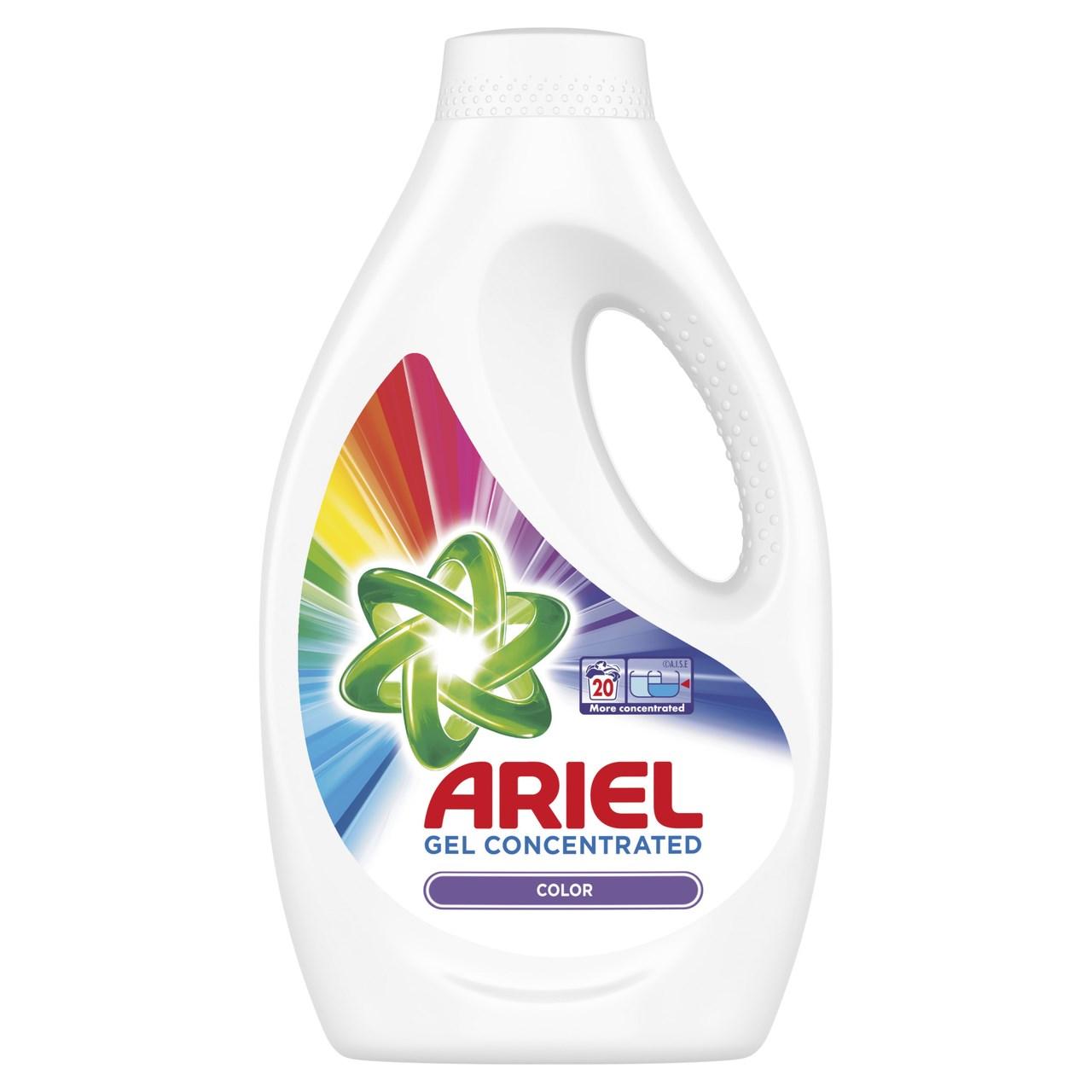 Ariel Color prací gél 20 praní 1x1 ks