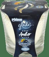 Vonná sviečka v skle Deep Amber Hills, 129 g