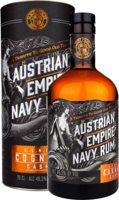 Austrian Empire Navy Rum Cognac Cask 46,5% 0,70 L