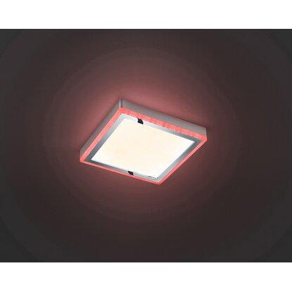 Reality LED stropné svietidlo Slide biele 12 W A +