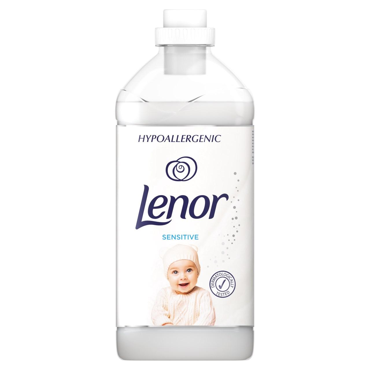 Lenor Sensitive aviváž 60 praní 1x1800 ml
