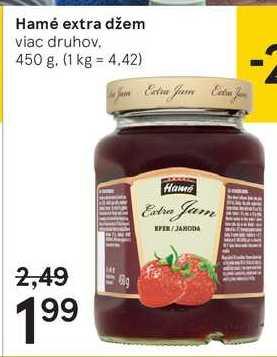 Hamé extra džem, 450 g