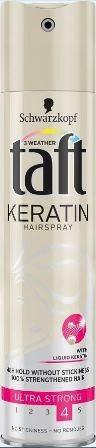 Taft Keratin ust lak na vlasy 1x250 ml