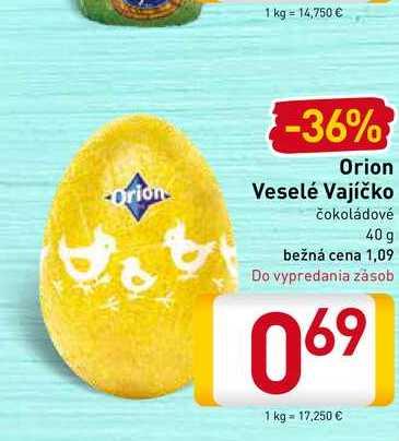 Orion Veselé Vajíčko 40 g