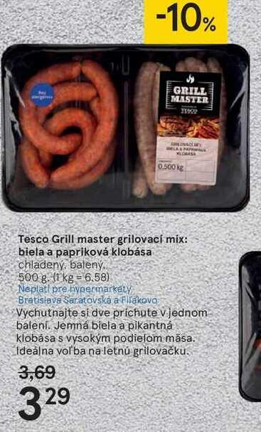 Tesco Grill master hovädzie tyčinky s korením, 250 g
