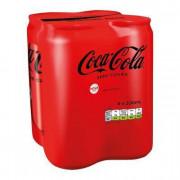 COCA-COLA ZERO 4x330ml PLECH